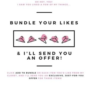 SAVE! Bundle Your Likes!!